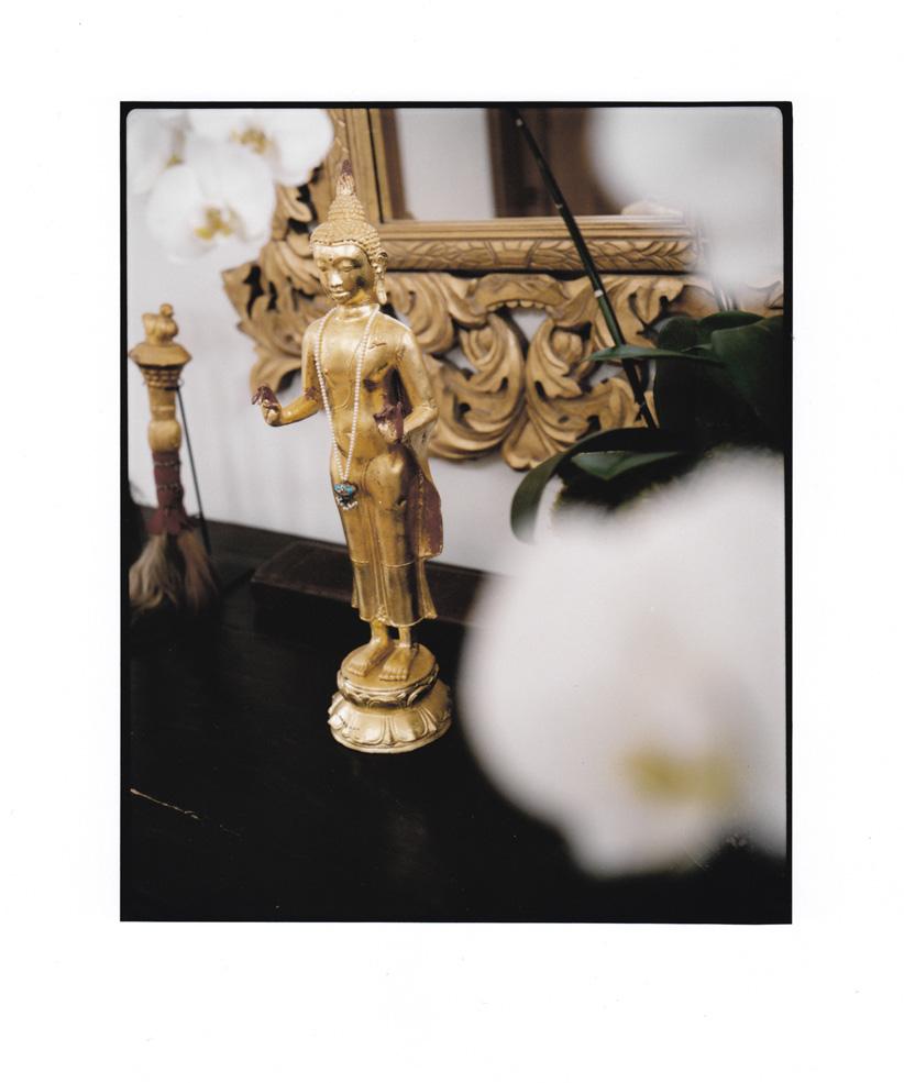 Buddha in West Hollywood, Los Angeles 2002