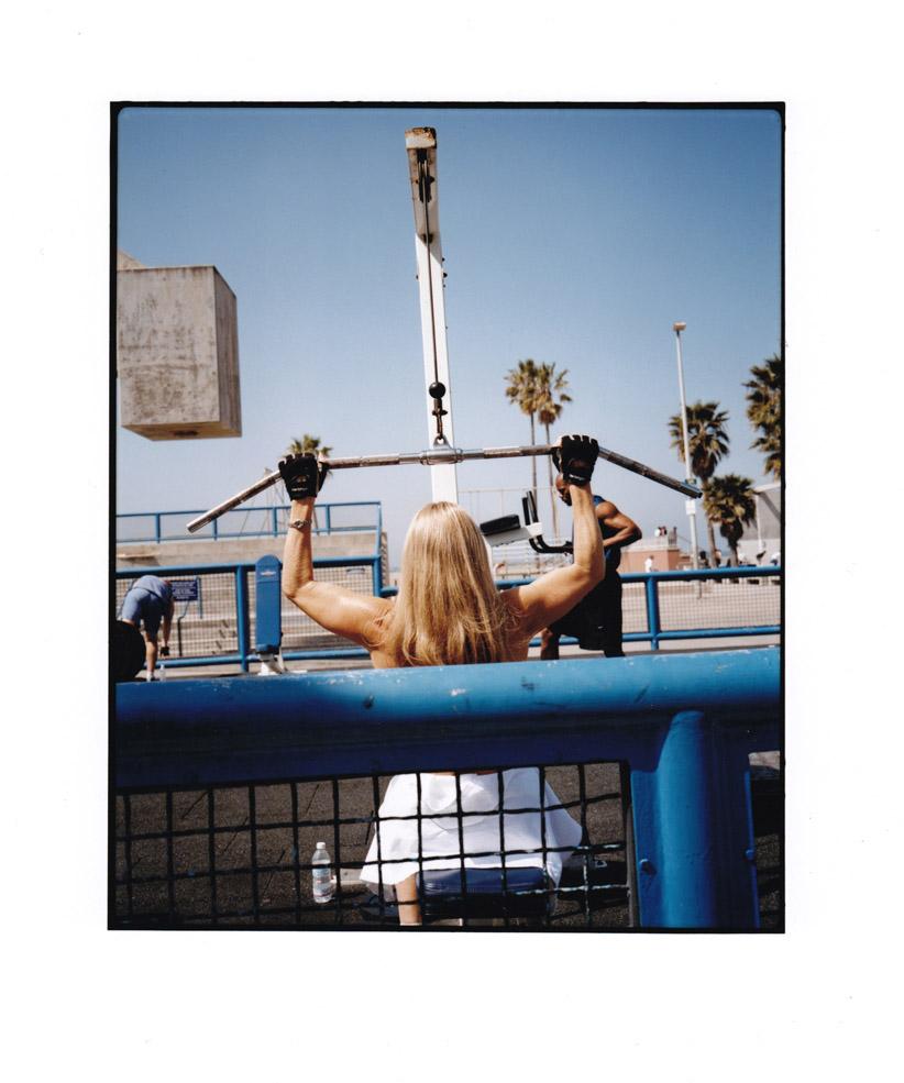Muscle Beach, Venice Beach 2002