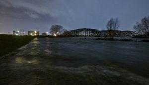 Veddeler Elbdeich, Sturmflut Xaver 2013