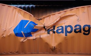 Hapag Llyod Container, chrashed