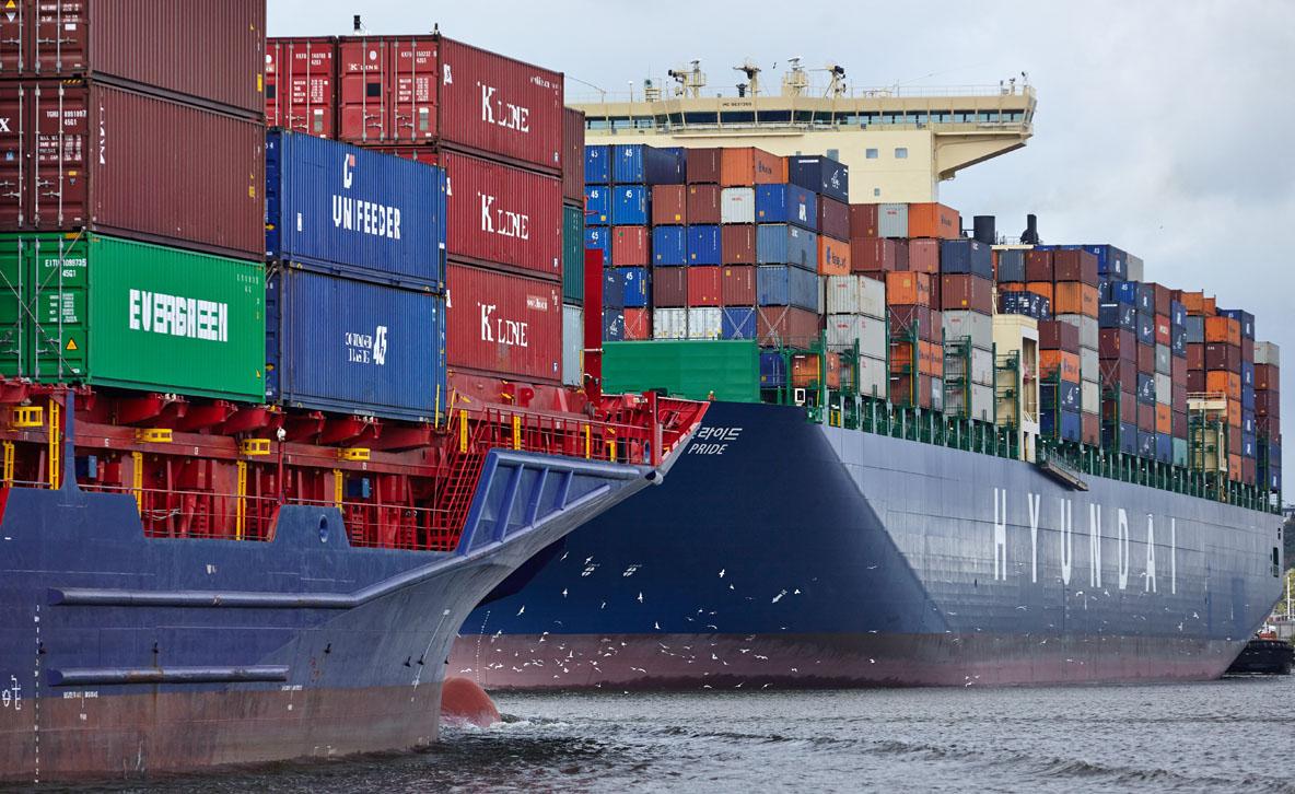 Hyundai Shipping, Köhlbrand, Unifeeder, Hyundai Pride