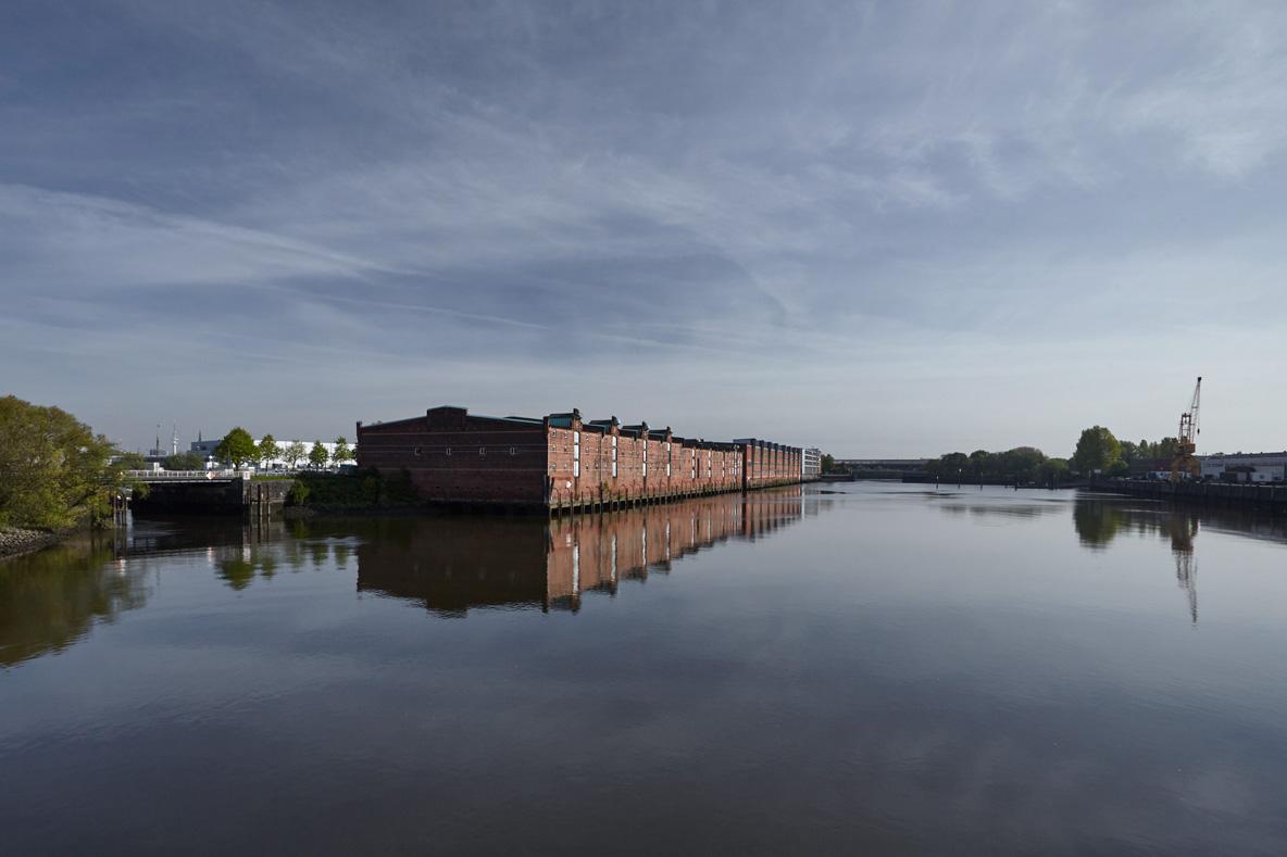 Lagerhaus G, Kleiner Grasbrook, Dessauer Strasse, Saalehafen 2017