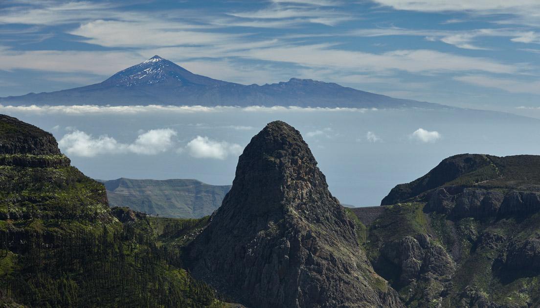 Roque Agando, Teide