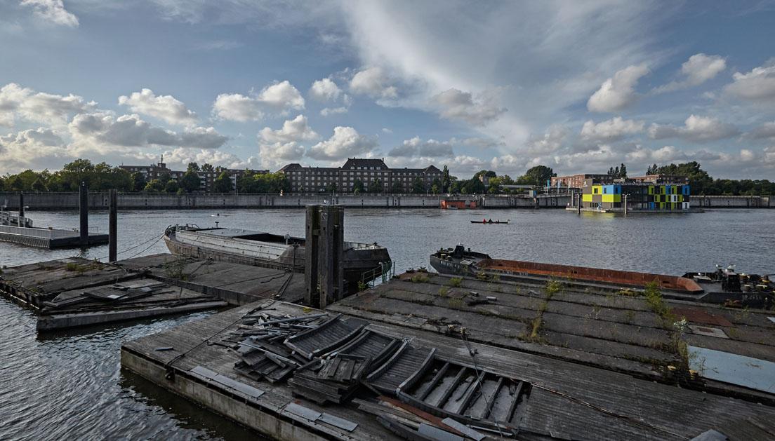 Müggenburger Zollhafen 2015