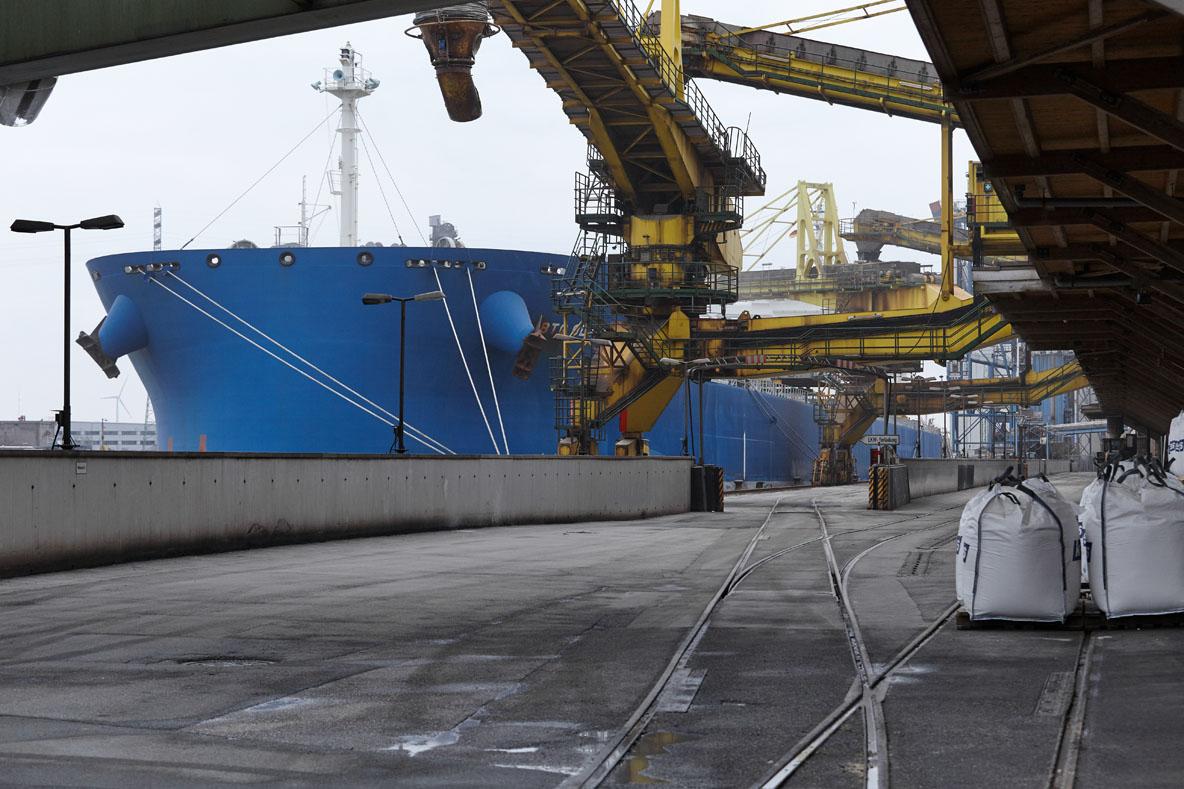 K+S Transport GmbH, Terminal Kalikai Hamburg