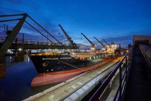 Vessel Spruce Arrow at Kalikai, Port of Hamburg 2017