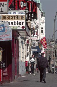 Davidstrasse, Herbertstrasse, Hamburg St.Pauli, 1997