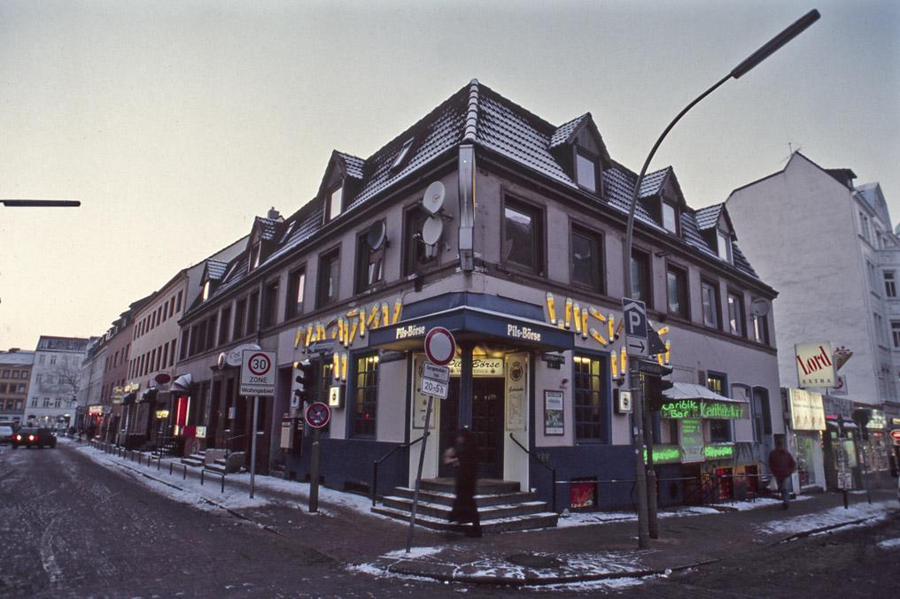 Pils Bšoerse Davidstrasse, Hamburg St.Pauli, 1997