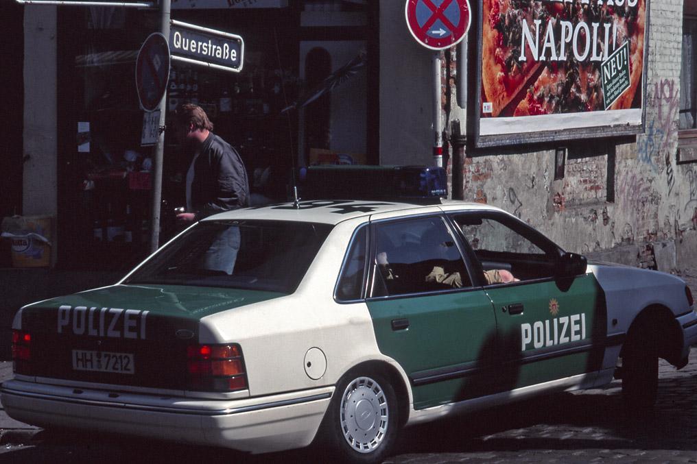 Querstrasse, St.Pauli 1995