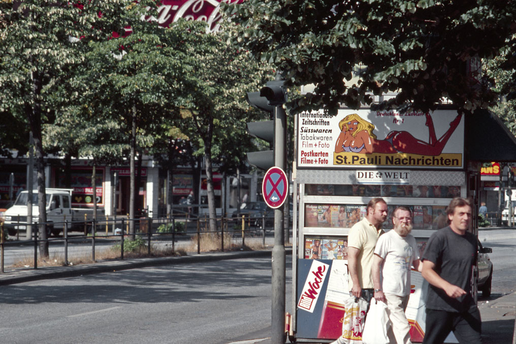 Reeperbahn, Hamburg St.Pauli 1997