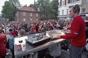 Sundance, St.Pauli Hafenstrasse, 1996