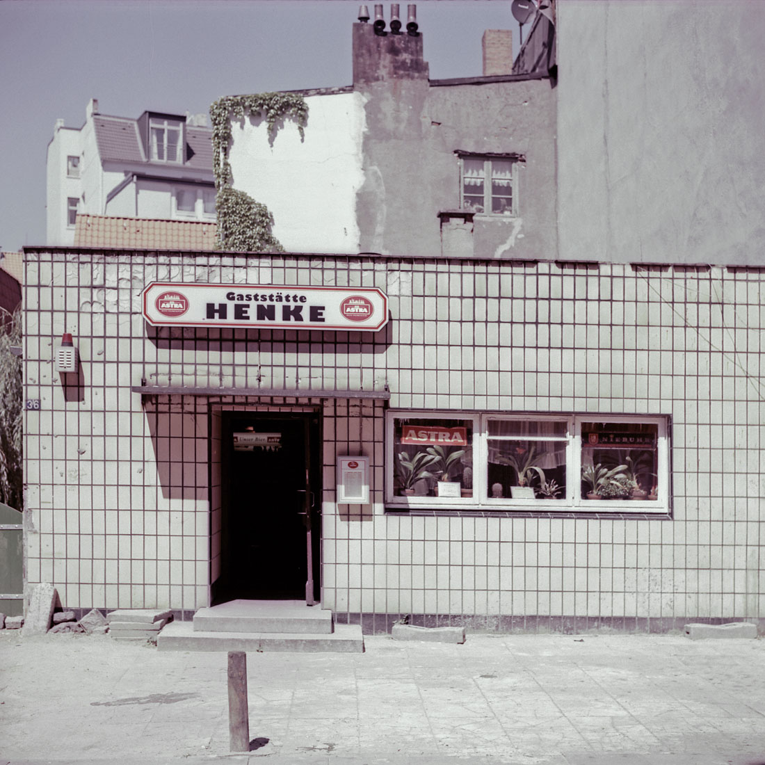 Gaststätte Henke, Erichstraße, 1997