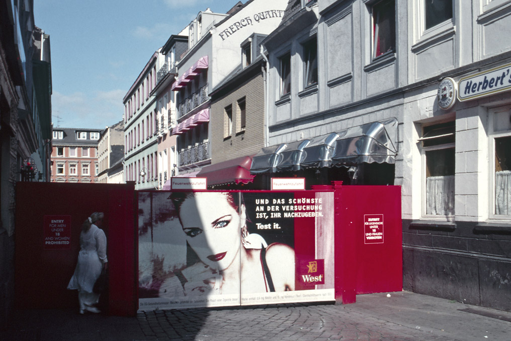 St.Pauli, Eingang Herbertstrasse, 1996