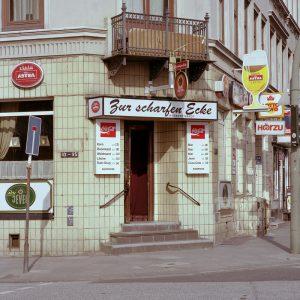 Zur scharfen Ecke, Bernhard-Nocht Strasse, St.Pauli 1998