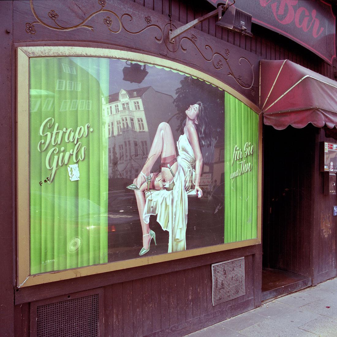 Strapsgirls, St.Pauli Bar, 1998